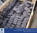 Zhangpuの黒い玄武岩の花こう岩の敷石/玉石の石/Cubestone