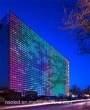 P10 LEIDENE van de Transparante LEIDENE Kleur van het Gordijn Openlucht Video Volledige Vertoning