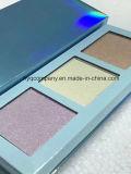 2017 paleta cosmética do Blusher da cor nova da paleta 3 do Highlighter do pó da composição