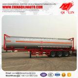 ISO 40FT топливозаправщика трейлер Semi для опасный нагружать жидкостей