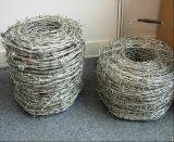 Bwg14X14, 16X16 Caliente-Sumergió el hilo del alambre de púas/la bobina galvanizados del alambre de púas
