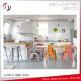 Verschiedener Farben-preiswerter Preis-populärer speisender Metalleisenblech-Stuhl (TP-1)