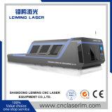 Cortadora del laser de la fibra de la hoja de metal Lm3015h3 con toda la cubierta