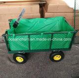 Faltender Laufkatze-Garten-Dienstlastwagen-Metallstrand-Wagen