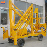 8m Four Wheels Boom Lift pour Single Man Lift