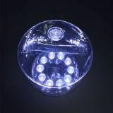 Luz solar portable de la linterna / la linterna inflable luz RGB