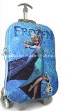 Il modo 3D Elsa congelato EVA scherza il sacchetto dei bagagli del carrello