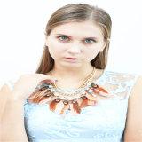 Neues Feld versieht Form-Schmucksache-Halsketten mit Federn