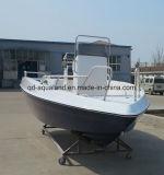 De Boot van het Dek van /Teak van de Vissersboot van de Glasvezel van China Aqualand 20.5feet 6.2m/van de Motor van Sporten (205c)