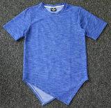 Le T-shirt de coton de constructeur des hommes ordinaires de bonne qualité de mode