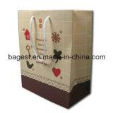 Bolsas de papel con asas al por mayor de la bolsa de papel con impresión del logotipo