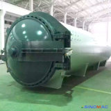 autoclave de borracha certificada Ce de Vulcanizating dos rolos de 2800X8000mm (SN-LHGR28)
