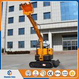 Conformité Chine de la CE mini prix d'excavatrice de 0.8 tonne prix d'excavatrice de chenille de 800 kilogrammes