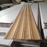 panneau de mur de panneau de PVC de laminage d'onde de 8.5*250mm établissant le matériau imperméable à l'eau