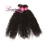 Unprocessed 100% естественные курчавые индийские волосы Remy девственницы 8A