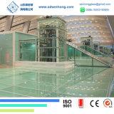 De duidelijke Lage Hitte van het Ijzer doorweekte het Aangemaakte Traliewerk van het Glas