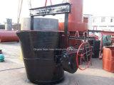 Poche chaude de fer de vente utilisée pour le fournisseur en métal fondu/poche de coulée