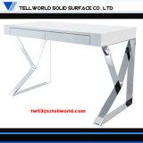 Faltender Büro-Schreibtisch-gesetzter Marmorierunginnenministerium-Schreibtisch-Entwurf