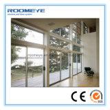 Puertas deslizantes de aluminio de Roomeye (vidrio aislado)