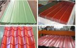 벽 지붕 건축재료 Prepainted 물결 모양 루핑 장