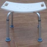 Asiento médico de aluminio de la ducha de la silla de ducha del equipamiento médico