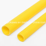 PVC Anti-ULTRAVIOLETA Corrugated Conduit Pipe con Various Sizes