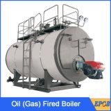 A gas bagnare la caldaia per il riscaldamento centralizzato posteriore
