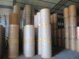 Papel impreso grano de madera decorativo para los muebles