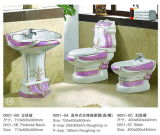 Heißes Luxury Style Sanitary Ware Seat Toilet (0001-3A)
