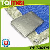 O encerado/Tarps do PE da alta qualidade com a corda dos PP reforçada e o alumínio provê cada um medidor