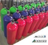 11L clásico, el tanque de oxígeno de la zambullida del equipo de submarinismo 12L con la válvula de K