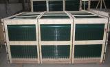 Strato/comitato neri/blu/verdi della rete metallica del PVC che recinta rete fissa