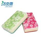 꽃 모양 청소 갯솜, 닦는 패드, Cleanig 제품