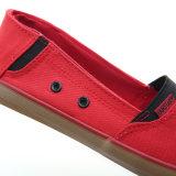 2017 neue Entwurfs-Segeltuch-Frauen-Schuh-Form-Damen