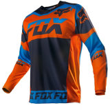 Long Sleeve Sprorts Wear UV Protection Jersey de Corrida de Motocicleta (MAT56)