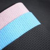 きらめきの格子織り目加工パターン袋の靴のための総合的なPUの革