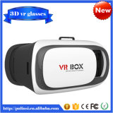 Vidrios video del receptor de cabeza de la realidad virtual del juego de la película de la caja V2 3D de Vr para el IOS androide