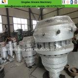 Protuberancia plástica de la producción del tubo del abastecimiento de agua del gas del PVC del PE del HDPE que hace la máquina