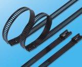 PVC 7.0X450mm покрыл 316 связей кабеля металла связей трапа стали