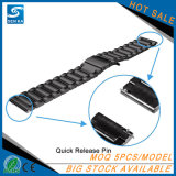Samsung 기어 S3를 위한 사치품 22mm 스테인리스 시계 줄