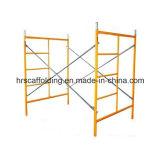 Marco de albañil del andamio herramientas para la construcción