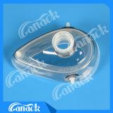 Masque réutilisable consommable médical d'anesthésie de silicones