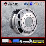 Bordas de alumínio forjadas da roda do caminhão da liga do magnésio para o barramento (11.75X22.5)