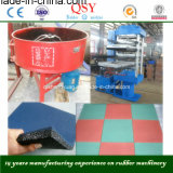 350*350*2 격판덮개 고무 지면 도와 압박 또는 격판덮개 가황기 기계