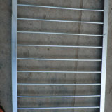 Aço galvanizado que cerc o uso como o trilho da estrada