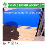 1220X2440X18mm Blue Melamine Faced MDF