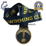 Förderndes Swimming Club Medal Awards mit Wärme-Transfer Ribbon