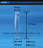 Frasco de vidro da alta qualidade para o armazenamento da bebida