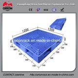 HDPE van de opslag de Dubbele Zij Plastic Pallet van het Net