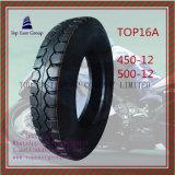 Qualität, lange Lebensdauer-Motorrad-inneres Gefäß, Motorrad-Gummireifen 450-12, 500-12